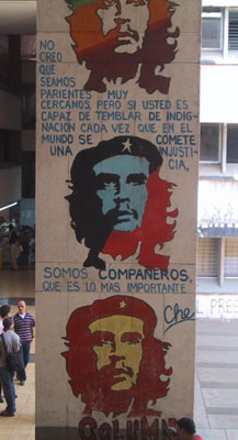 'I don't believe that we are close relatives, but if you shake with indignation every time an injustice is committed in the world, then we are comrades, which is the most important thing.' Che