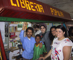 The People's Library in Santa Helena market