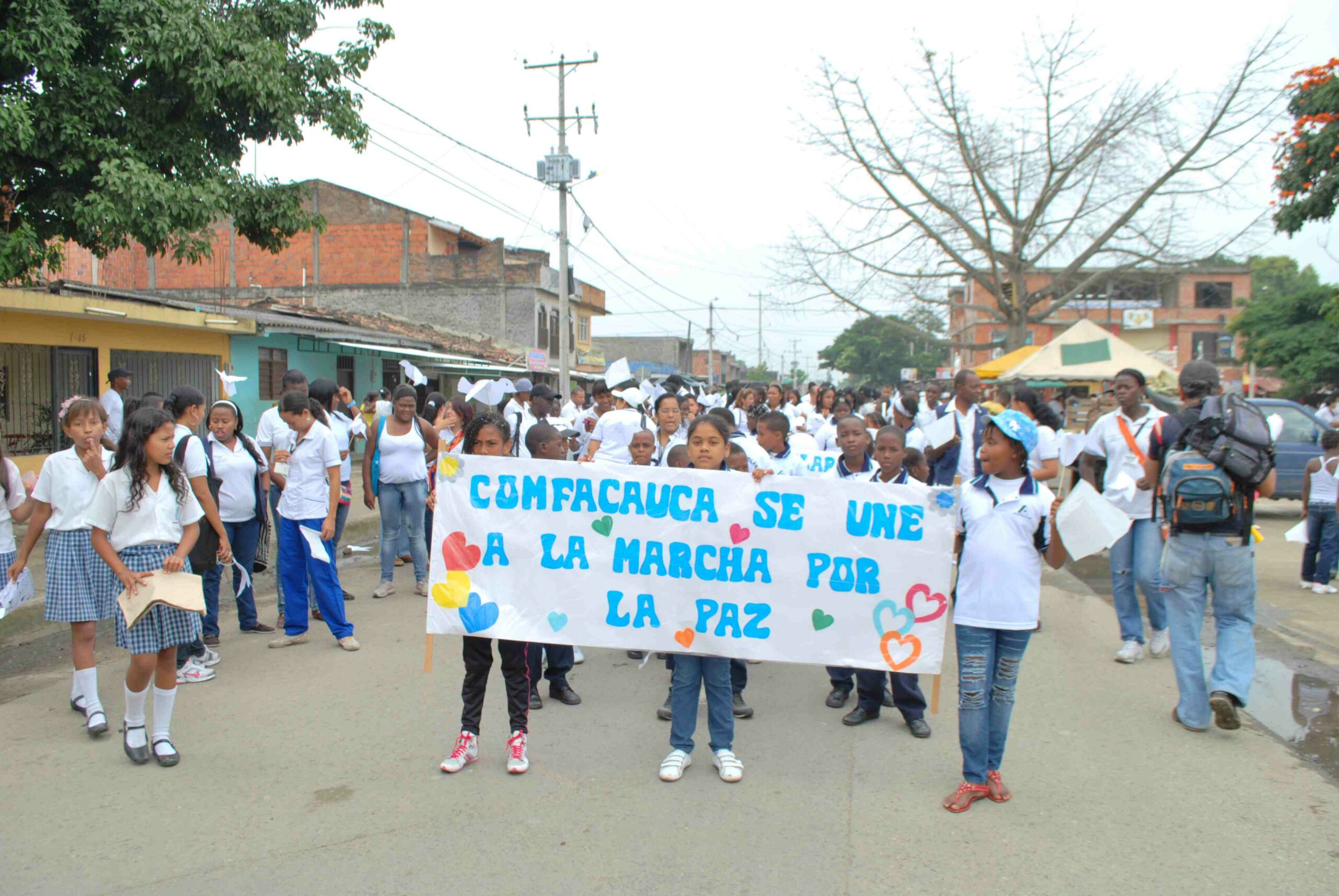 Girls on Peace March